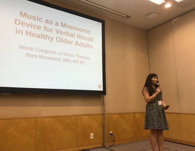A Japanese Music Therapy Academic at WCMT 2017